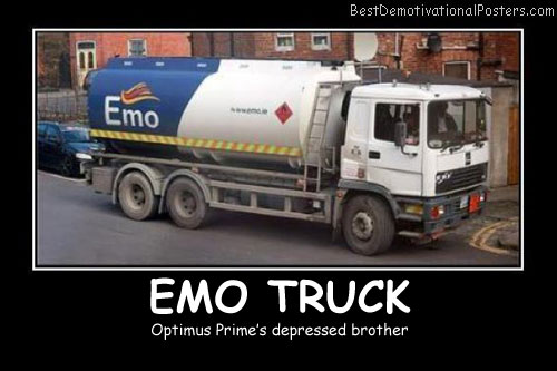 Emo Truck Best Demotivational Posters