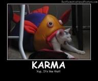 Karma Best Demotivational Posters