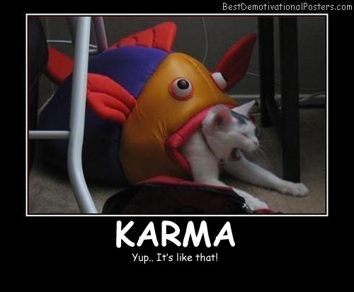 Karma Best Demotivational Posters