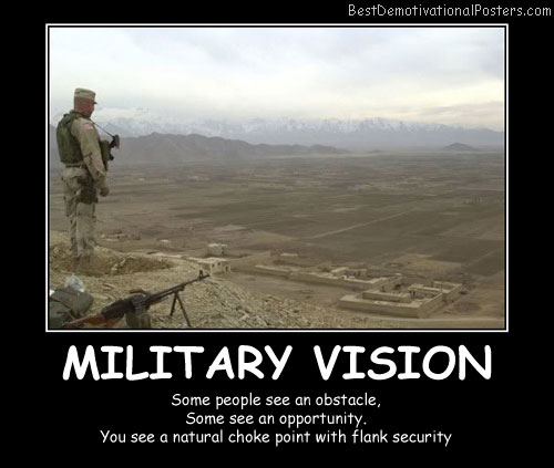 Military Vision Best Demotivational Posters