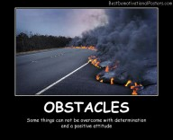 Obstacles On Road