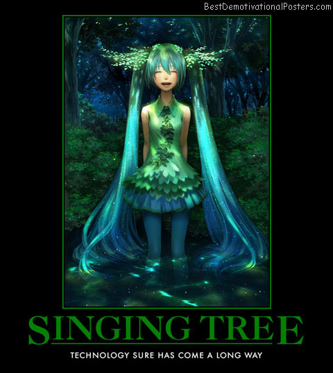Singing Tree anime