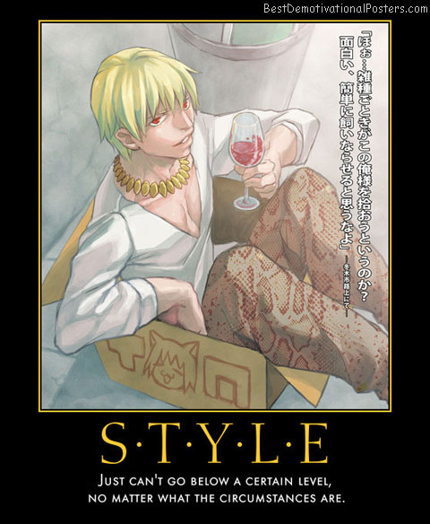 Style No Matter What anime