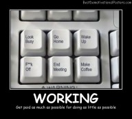 Working - Best Demotivational Posters