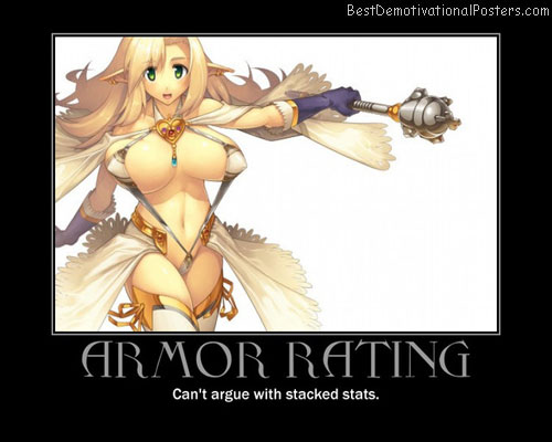 Armor Rating Anime