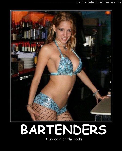 Bartenders - Best Demotivational Posters