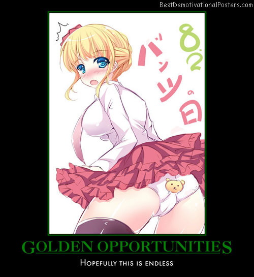 Golden Opportunities - Anime