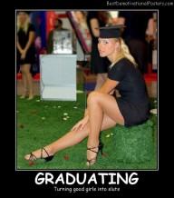 Graduating Blonde