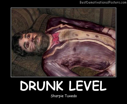 Drunk Level - Best Demotivational Posters