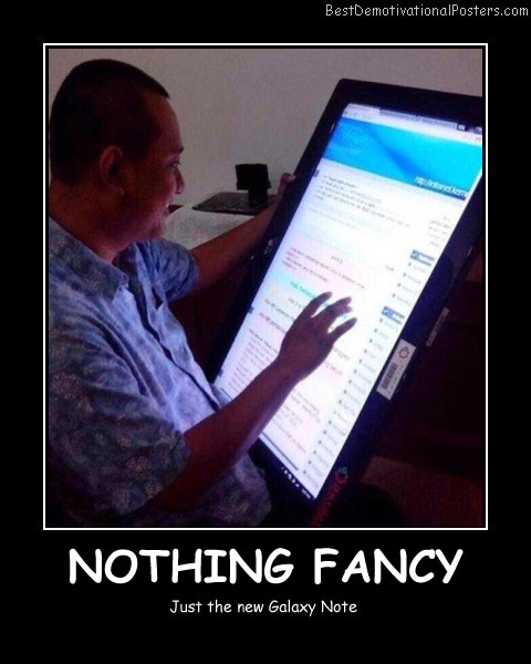 Nothing Fancy - Best Demotivational Posters