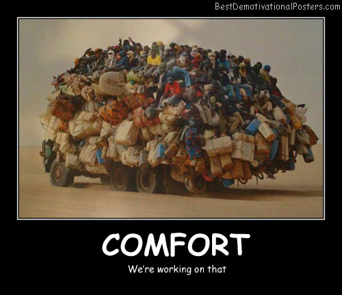 Comfort - Best Demotivational Posters