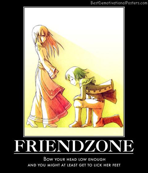 friend zone meme silence