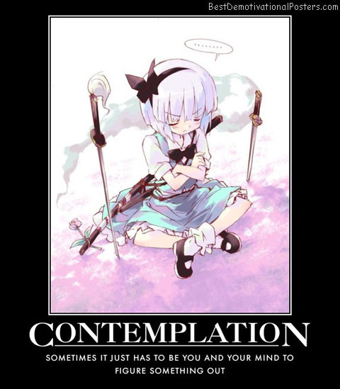 Contemplation Anime