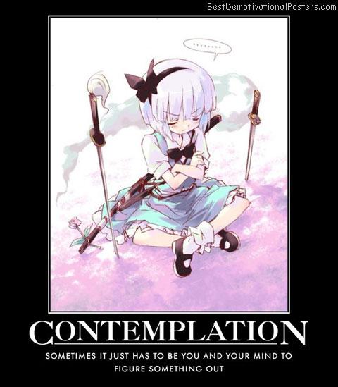 Contemplation Anime
