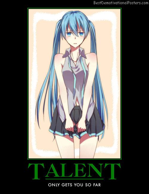 Talent - Anime