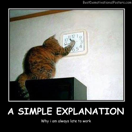 A Simple Explanation - Best Demotivational Posters
