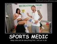 Sports Medic - Best Demotivational Posters