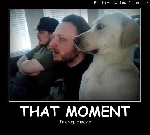 That Moment - Best Demotivational Posters