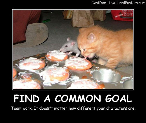 Find a Common Goal - Best Demotivational Posters